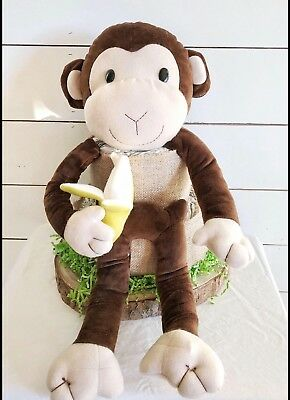 2 Tier - Monkey Diaper Cake - Handmade with all new materials!