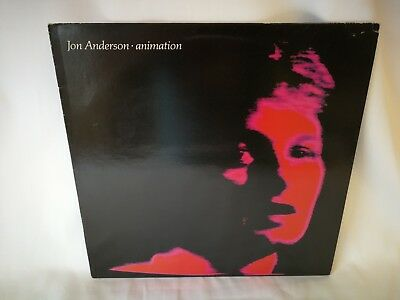 Jon Anderson ANIMATION 12 inch Vinyl LP POLD 5044 Excellent Condition