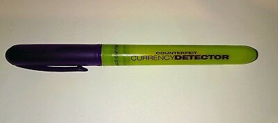 Counterfeit Money Detector Pen Fake Banknote Tester Currency Cash Checker
