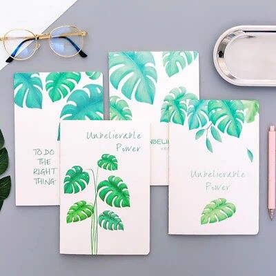 4Pcs(Different Cover)/1 Set A5 5Rule Paper Notebook Notepad Journal Diary