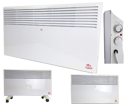 1KW 1.5KW 2KW Portable Electric Panel Heater Radiator Wall Mounted with Wheels
