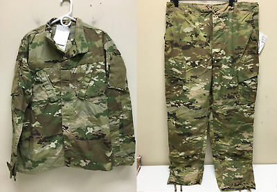 Army Issued Multicam W-2 Ocp Scorpion Uniform Set Trousers And Jacket Ml Nwt