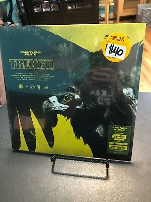 Twenty One Pilots TRENCH yellow Olive Lp Vinyl Record Sealed Urban Outfitters