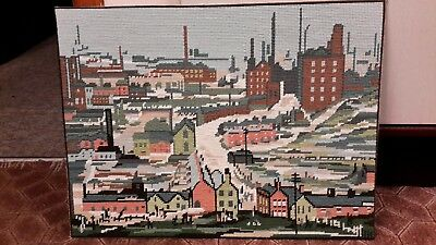 DMC Completed Tapestry LS LOWRY lot 2