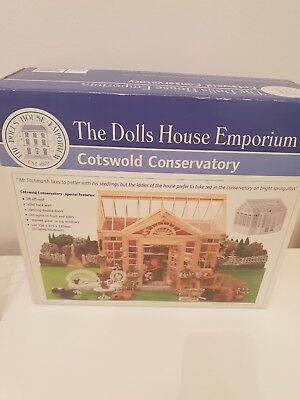 The Dolls House emporium Miniature 1:12th Cotswold Conservatory Kit