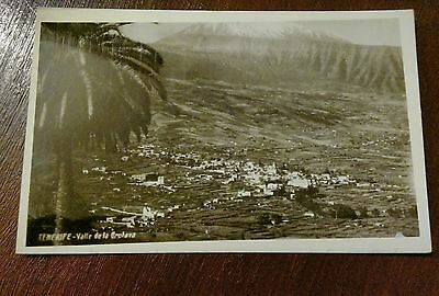 Tenerife Valle De La Orotava Photo Postcard