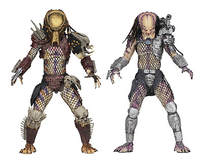 """Predator Bad Blood vs Enforcer 7"""" Scale Ultimate Action Figure Two Pack by NECA"""