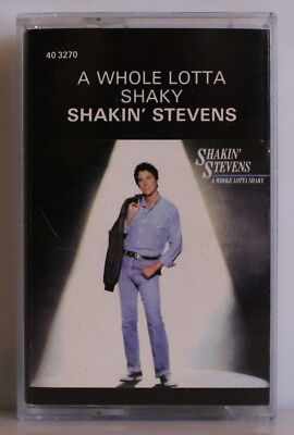 SHAKIN' Stevens - A Whole Lotta Shaky 1989 SOUTH AFRICA (40 3270)