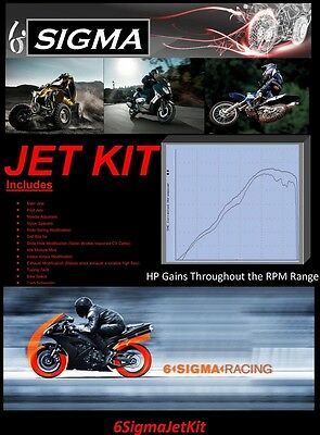 Piaggio X8 125 200 cc Scooter Custom Jetting Carburetor Carb Stage 1-3 Jet Kit