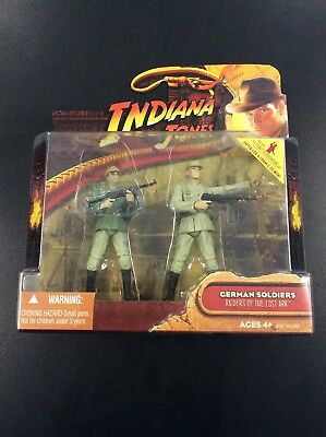 Indiana Jones German Soldiers Hasbro Raiders Of The Lost Ark 2008 3.75 Figures