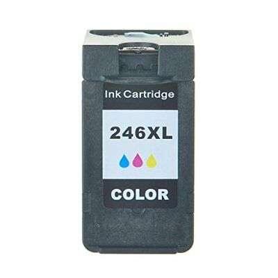 1 Pk Non-Oem Ink For Canon Cl-246Xl Colour Pixma Mg2400 Mg2420 Mg2520 Mg2525
