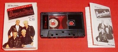 Depeche Mode - Cassette Tape - Very Best Of 1981-1987 (Greatest Hits)