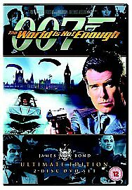 James Bond 007 The World Is Not Enough NEW & SEALED UK RELEASE DVD FREE P&P