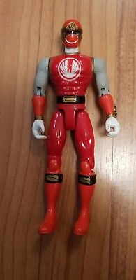 Bandai 2002 Power Ranger Figure Red Wind Ninja Storm 5.5""