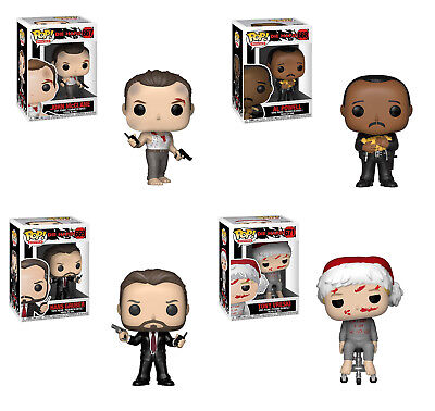 Funko Pop! Movies: Die Hard - John, Al, Hans, Tony Full 4 Piece Vinyl Set