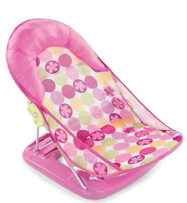 BNIB Summer Infant Deluxe Baby Bather, pink