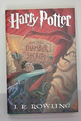 Harry Potter and the Chamber of secrets American 1st edition very good condition