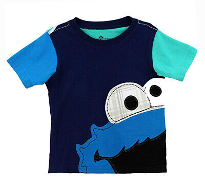 Sesame Street Toddler Boys Cookie Monster Top Size 2T 3T 4T