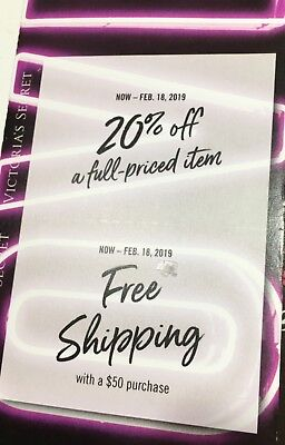Victoria's Secret Coupons 20%off + shipping 💕🛒👙🛍