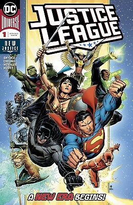Justice League #1 DC Universe 2018 NM Main Cover Jim Cheung