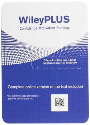 Wiley Plus Access Code Guaranteed w/ANY Course FAST Delivery through ebay