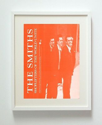 The Smiths Shoplifters Band A3 Repro Print Poster Unframed 216Gsm Matte Pro