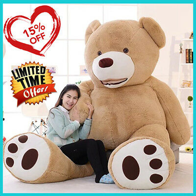 PROMO! Giant Teddy Bear 130 Cm Valentine's Day Gift Free shipping