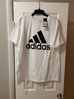Authentic Original Adidas Mens Tee Performance Ultimate The Go To T-Shirt Large