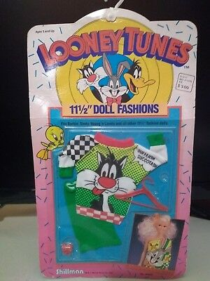Looney Tunes Doll Fashions:  Tweety Sylvester New