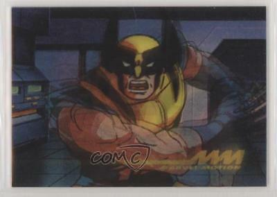 1996 Skybox Marvel Motion Promos #3 Wolverine Non-Sports Card 2d5