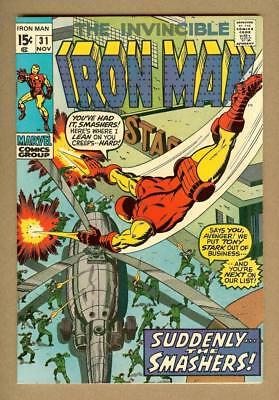 The Invincible Iron Man #31- First Appearance of Kevin O'Brien - 9.4 Near Mint