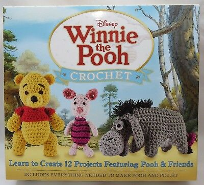 2015 Disneys Winnie The Pooh Crochet Kit Pooh Piglet 2 Projects