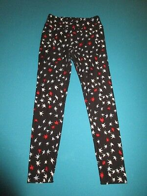 08325d2814421 LULAROE WOMENS LOT 2 circus pattern black white red os one size ...