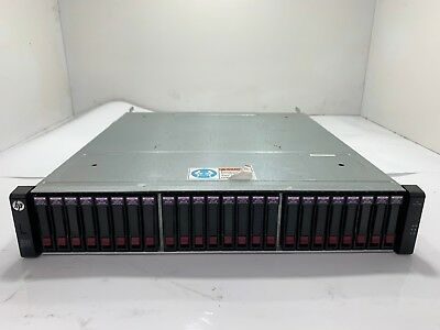 C8R15A- HP MSA 2040 SAN Dual-Controller SFF Storage Array w/ 24x 300GB 10K HDD
