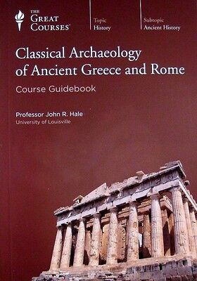 Teaching Co Great Courses Classical Archaeology Ancient Greece & Rome 18CD #3340