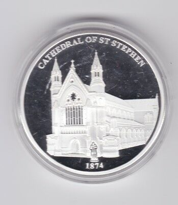 Brisbane Convict Settlement Capital City Cathedral St Stephen 1874 Proof Like