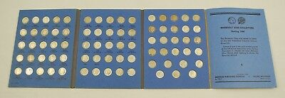 1945 Whitman ROOSEVELT DIME COLLECTION 1946-1963 Complete Set - 77 Coins