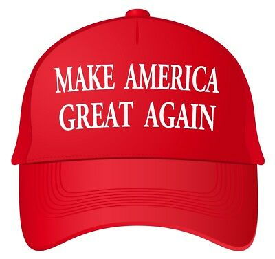Make America Great Again, MAGA Sticker Decal Red Hat Donald Trump Re-Elect 2020