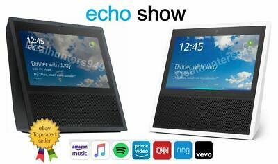 NEW! Amazon Echo Show Alexa Smart Assistant - Black or White - Free Shipping!