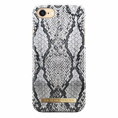 detailed look 77534 90d41 IDEAL OF SWEDEN iPhone 7 iPhone 8 Magnet Hard Snap Cover Case Python Snake  Skin