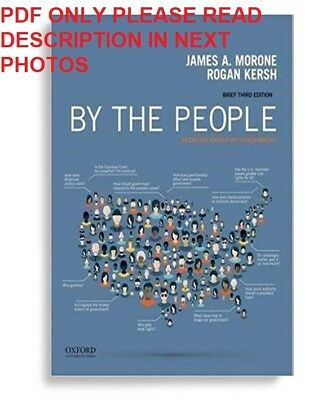 By the People: Debating American Government James Morone 3rd Edition eb00k PDF