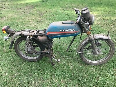 Honda CB125 rolling chassis plus other parts