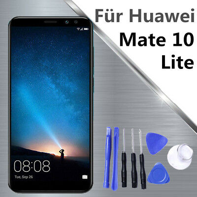 Huawei Mate 10 Lite Komplettes LCD Display Touchscreen Schwarz