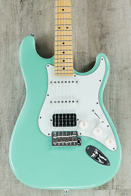 Suhr Guitars Classic S HSS Guitar, Surf Green, Maple Fretboard