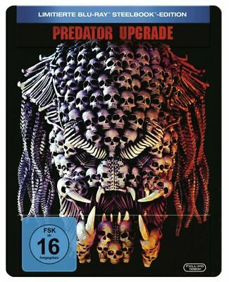 Predator - Upgrade - Limited Steelbook - Blu Ray