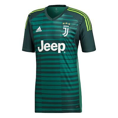 8c7a1ddae Official Juventus Home Goalkeeper Shirt Jersey Tee Top 2018 19 Mens adidas