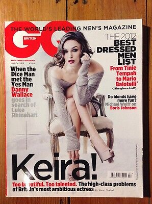 British GQ Magazine - March 2012 (Keira Knightley)