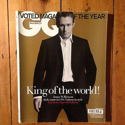 British GQ Magazine - March 2004 (Johnny Wilkinson)