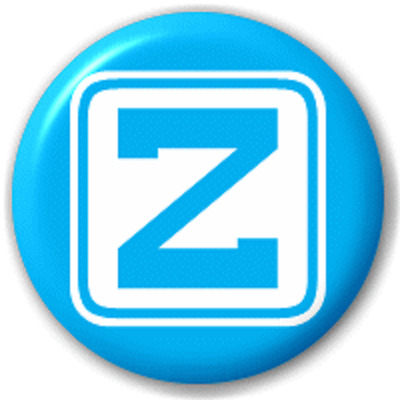 Block Letter Z – 25 Mm Pin Button Badge