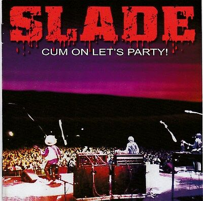 Slade – Cum On Let's Party ! RARE NEW CD! FREE SHIPPING!